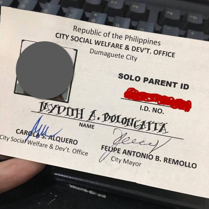 Getting a Solo Parent ID